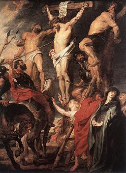 Peter Paul Rubens - Christ on the Cross between the Two Thieves - WGA20235