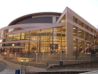 Petersen Events Center Multi-purpose basketball arena and recreation center at the University of Pittsburgh