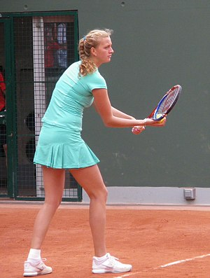 Petra Kvitová's early career - Kvitová at the 2010 French Open