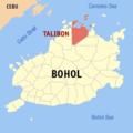 Ph locator bohol talibon.png