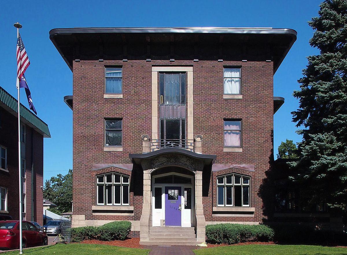 Phi Gamma Delta Fraternity House University Of Minnesota