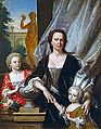 Philip van Dijk - Sybilla Volkera Sichterman-Sadelijn met haar dochters Sybilla Volkera en Christina Elisabeth.jpg