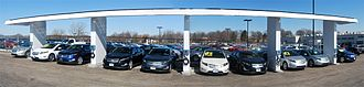 Solar power in Illinois - Solar electric car charging station in Frankfort, Illinois