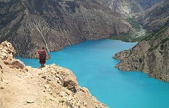 Phoksundo Lake - Image: Phoksumdo lake