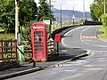 Phonebox and pillar box, Brithdir - geograph.org.uk - 449653.jpg