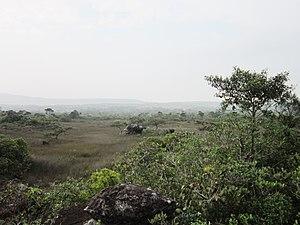 Preah Monivong National Park - Image: Phong cảnh trên đỉnh núi Bokor
