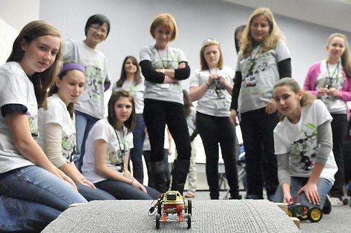 Photo of the Week- Women in STEM Introducing Girls to Engineering (8722940949)