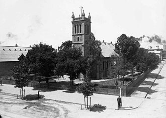 Holy Trinity Church, Adelaide - Photograph of the Holy Trinity, late 1800s