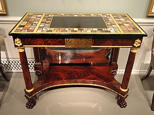 Pier table - A pier table made in Boston, Massachusetts, between 1815 and 1825.