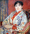 Pierre-Auguste Renoir - Portrait of Madame Henriot - 1882 by Anagoria.jpg