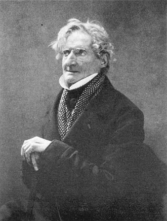 Pierre-Luc-Charles Ciceri - Pierre-Luc-Charles Cicéri, photograph by Nadar