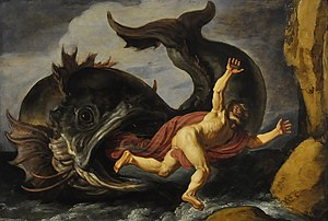 Jonah complex - Image: Pieter Lastman (1583 1633) Jonas en de walvis (1621) Düsseldorf Museum Kunstpalast 15 08 2012 15 01 08