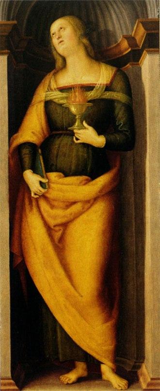 Annunziata Polyptych - Image: Pietro Perugino cat 74f