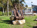 PikiWiki Israel 11429 an anchor at the entrace to kibbutz haogen.jpg