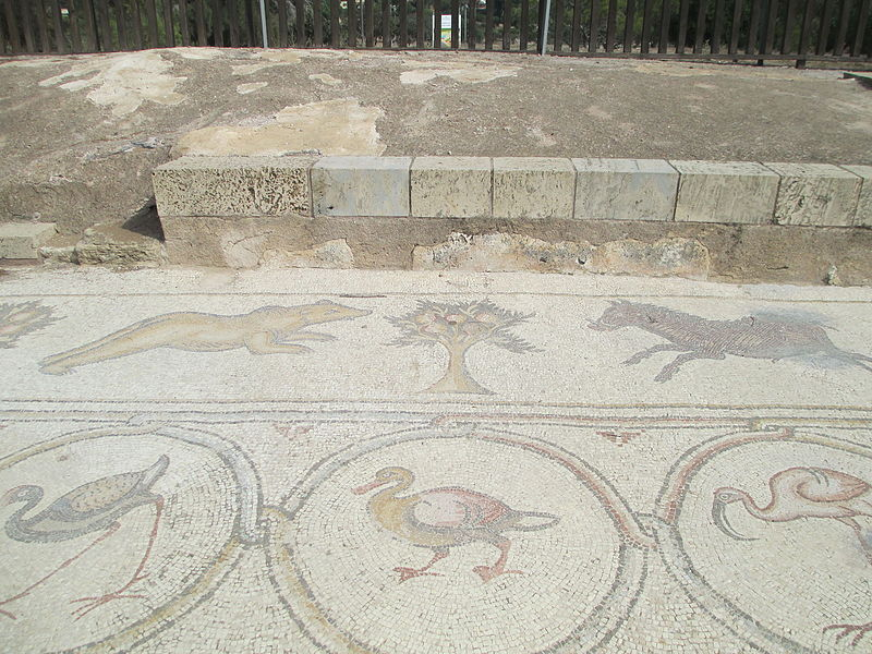 פסיפס הציפורים בקיסריה