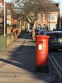 Pillar box on Patrick Road, ref NG2 162 - geograph.org.uk - 1747268.jpg