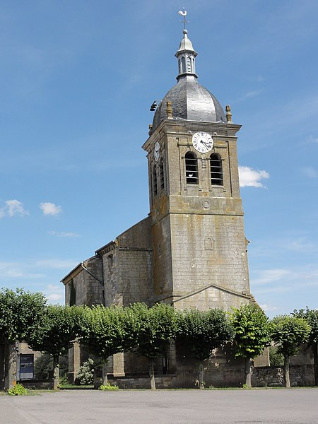 Pillon (Meuse) église