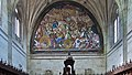 Pintura en el coro de la Iglesia de San Esteban, Salamanca.jpg