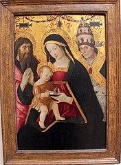 La Vierge et l'Enfant entre saint Jérôme et saint Grégoire le grand