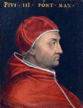Pope Pius III - Image: Pius III