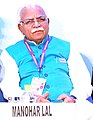 "Piy Chief Minister of Haryana, Shri Manohar Lal Khattar at the ""Happening Haryana"" Global Investors' Summit, in Gurgaon (cropped).jpg"