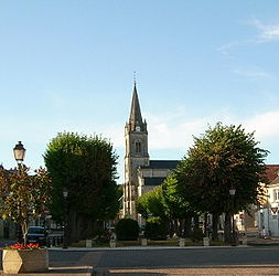 Main square and church