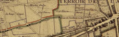 Plan du terroir de St Denis. Sente des Gardinoux. 1707.png