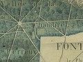 Plan manuscrit de Fontainebleau et de la partie voisine de la forêt - Cimetière.jpg