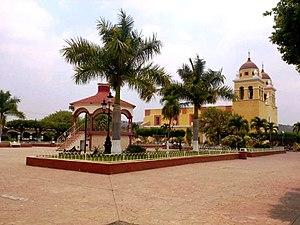 Villa Purificación - Main plaza