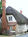 Please mind our thatch - geograph.org.uk - 882603.jpg