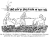 Ploughmen Fac simile of a Miniature in a very ancient Anglo Saxon Manuscript published by Shaw with legend God Spede ye Plough and send us Korne enow.png