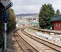 Points set for Abercynon north of Pontypridd railway station - geograph.org.uk - 3966975.jpg