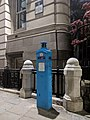 Police Call Box At North East Angle Of Number 1 St Martin's Le Grand, London EC1.jpg