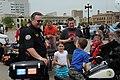 Police Week May 15, 2010 on Court Avenue Bridge, Des Moines, Iowa, USA-1.jpg