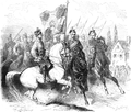 Polish mounted standard-bearer of the January Uprising 1863.PNG