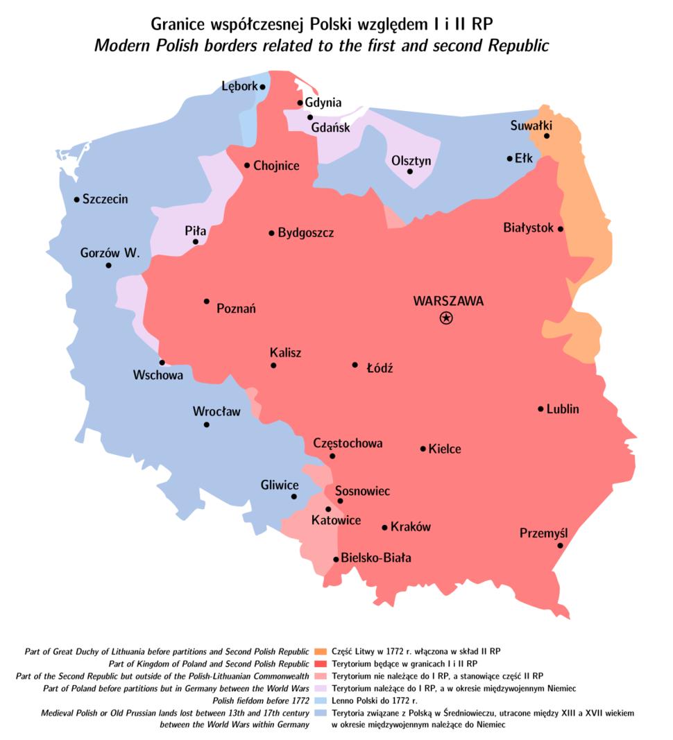 Polska dzis a kiedys