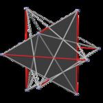 Polyhedron great 20 pyritohedral, face gray.png