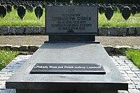 Pomnik na grobie płk Stanisława Dąbka - Gdynia Redłowo.JPG