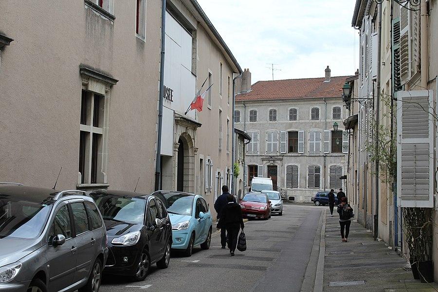 Pont-à-Mousson, rue Magot de Rogéville