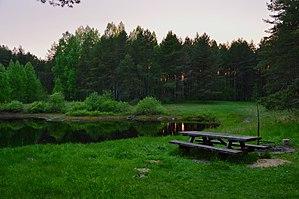Värska Parish - Image: Poogandi järve puhkeala