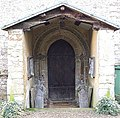 Porch, St. John the Evangelist, Radclive - geograph.org.uk - 348945.jpg