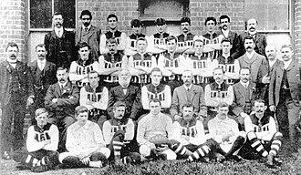 1906 SAFA season - 30th season Port Adelaide premiership team