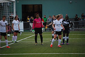 Portland Thorns at Seattle Reign FC.JPG