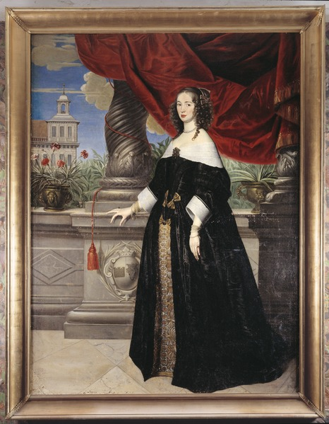 File:Porträtt. Anna Margareta von Haugwitz. Hulle - Skoklosters slott - 64932.tif