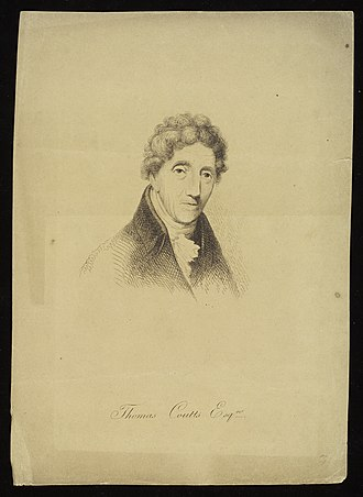 Thomas Coutts - Portrait of Thomas Coutts by William Beechey