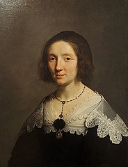 Portrait of artist's wife Charlotte Duchesne
