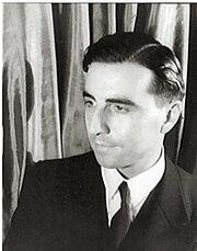 Portrait of Julian Green (1900-1998), by photographer Carl van Vechten