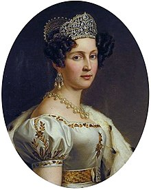 Portrait of Therese Queen of Bavaria, princess of Saxe-Hildburghausen.jpg