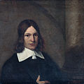 Portrait of a 19-year-old man, possibly a self portrait, attributed to Pieter de Hooch.jpg