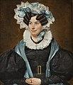 Portrait of a Woman by Frans Xavier Bourkart Centraal Museum 7391.jpg